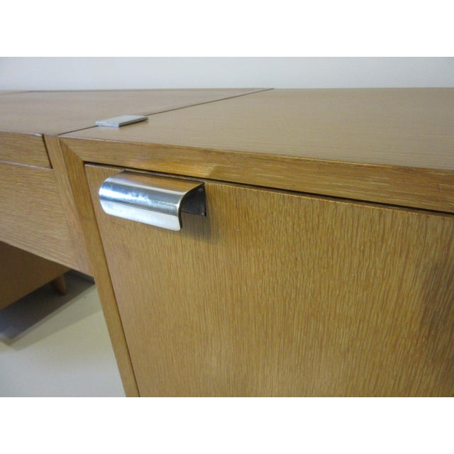 George Nelson for Herman Miller Oak 3 Pc. Vanity Chest Set For Sale - Image 11 of 13