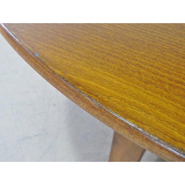 Mid 20th Century Mid-Century Modern Teak Drop Leaf Table For Sale - Image 5 of 9