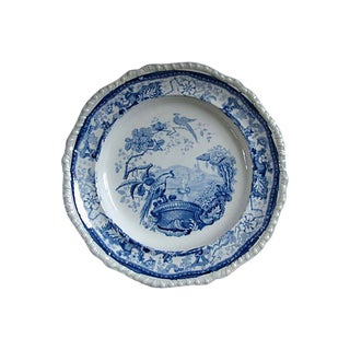 Antique Staffordshire Pearlware Plate - C. 1830s