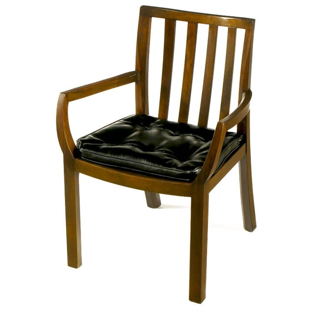 From Bert England's Forward Trend collection for Johnson Furniture of Grand Rapids, these elegant chairs are constructed...