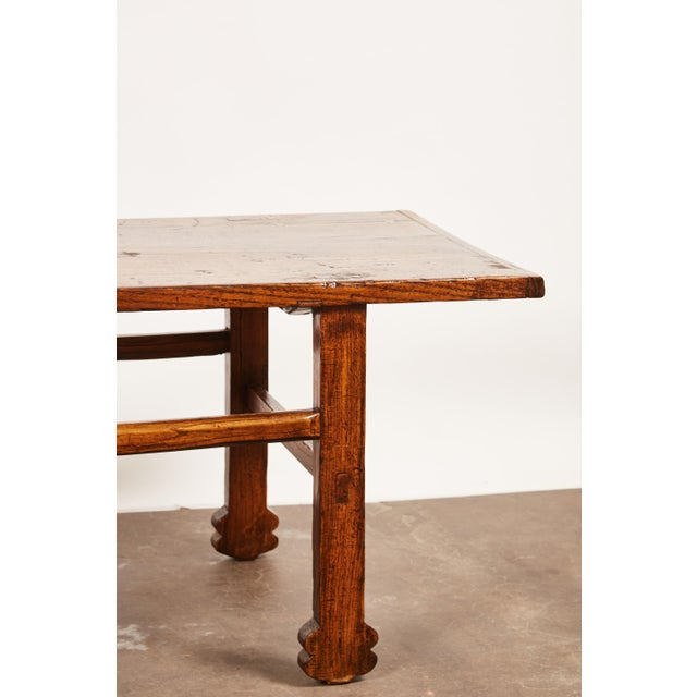 Early 19th Century Chinese Elm Table For Sale - Image 4 of 9