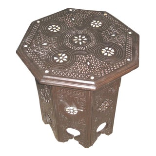 Syrian Boho Chic Side Table