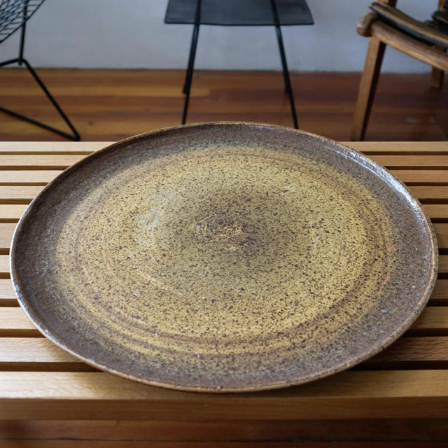 Felix Tissot (1909-1989) ceramic platter from his time in California. The French-born artist moved to California in the...