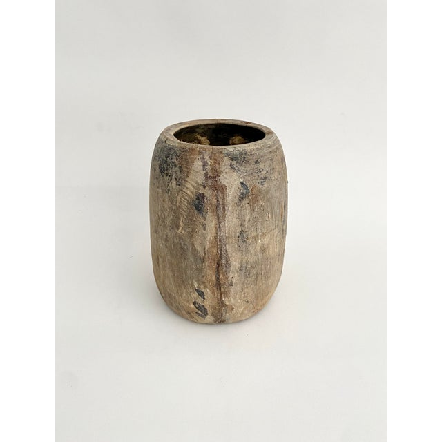 Hanging Rustic Wood Honey Pot For Sale In Los Angeles - Image 6 of 6