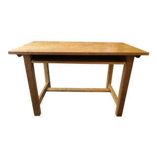 Contemporary Compact Office Desk, From Crate & Barrel For Sale
