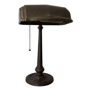 1920s Industrial Metal Table Lamp