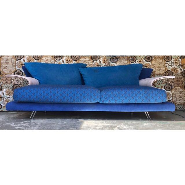 Post Modern Giorgio Saporiti Memphis Style Sofa For Sale - Image 13 of 13