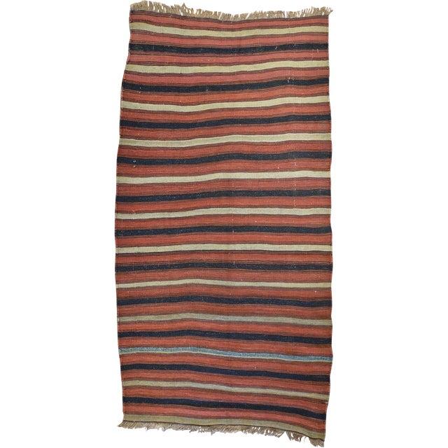 Vintage Nomadic Kilim For Sale