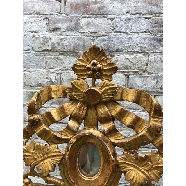 Beautiful Small 18th Century Mirror Louis XVI For Sale - Image 9 of 12