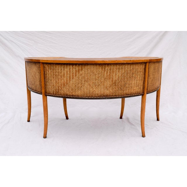 Late 20th Century Demi Lune Cocktail/Hunt Table For Sale - Image 5 of 13