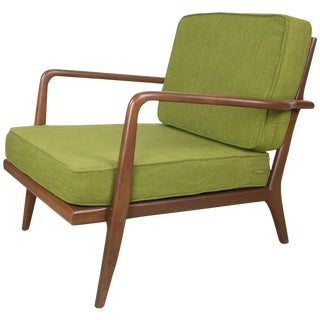 Mel Smilow Rail Back Lounge Chair For Sale
