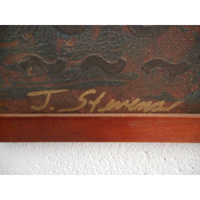 J. Stevens Contemporary Abstract Painting For Sale - Image 5 of 7
