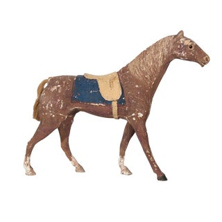 Swiss Painted Toy Horse For Sale