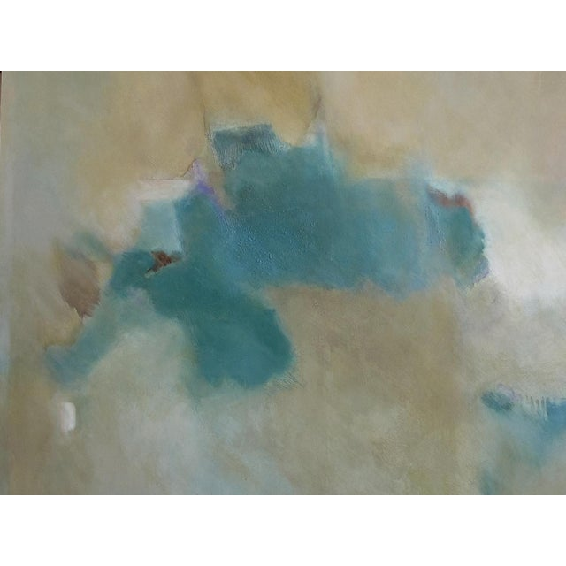 Large Abstract 'Destiny' Painting Signed 'Sally Chiu 2002' For Sale In San Francisco - Image 6 of 9
