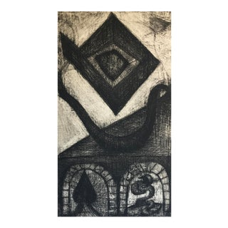 1960s Abstract Etching For Sale