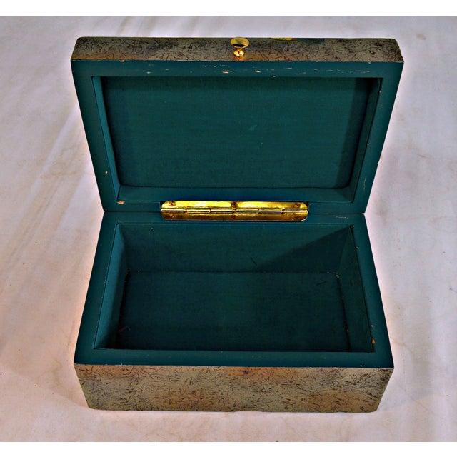 Asian Motive Trinket Box For Sale In Miami - Image 6 of 6