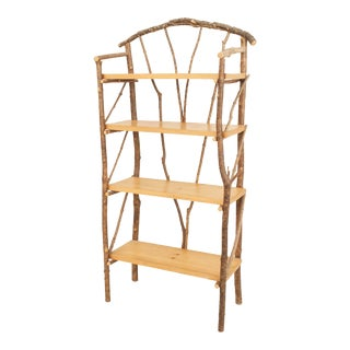 Rustic Adirondack 20th Century Etagere For Sale