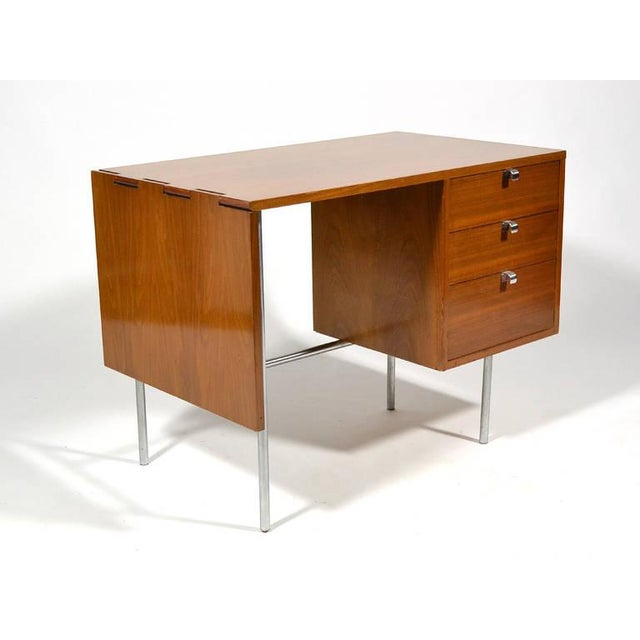 Mid-Century Modern George Nelson Model 4754 Drop Leaf Desk by Herman Miller For Sale - Image 3 of 10