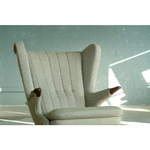 Sven Skipper 1960s Papa Bear Chair Model 91 in the Style of Hans Wegner For Sale - Image 5 of 11