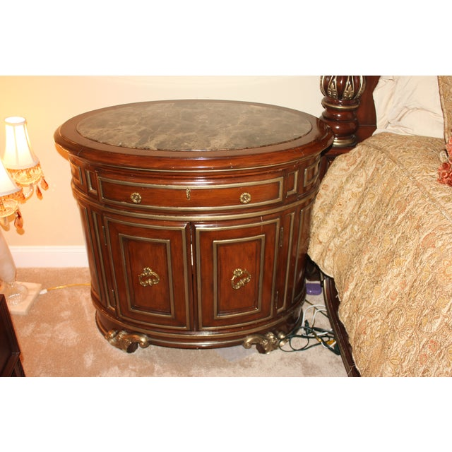 Marge Carson Night Chests - Pair - Image 5 of 7