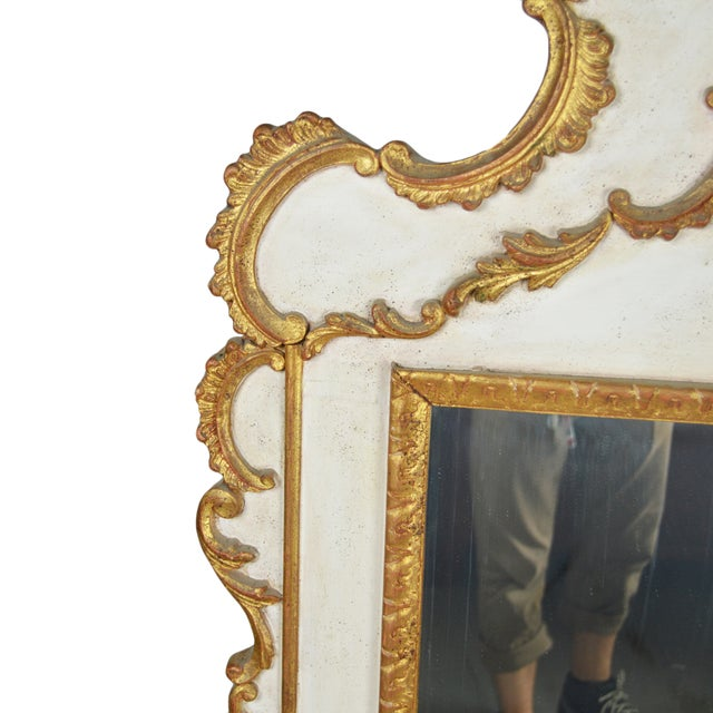 French Rococo Gilt Mirror - Image 4 of 5
