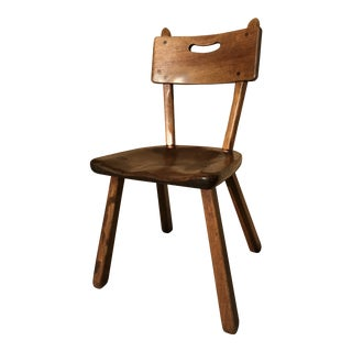 1940s Vintage Cushman Colonial Creations Wood Chair For Sale