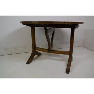 19th-Century Painted Wine Tasting Table Preview