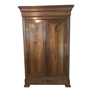 Antique Country Wooden Armoire