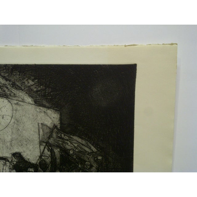 """Mid 20th Century Vintage """"Divertimenti"""" Print by Ivan Valtchew For Sale In Pittsburgh - Image 6 of 8"""
