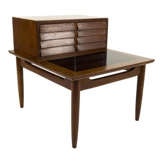 Mid Century Modern Merton Gershun for American of Martinsville Nightstand For Sale