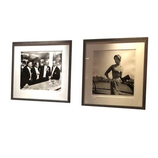 Framed Print of Kings of Hollywood, 1957 by Slim Aarons For Sale