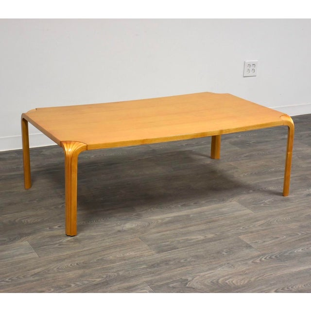 Alvar Aalto Scalloped Coffee Table for Artek For Sale - Image 11 of 11