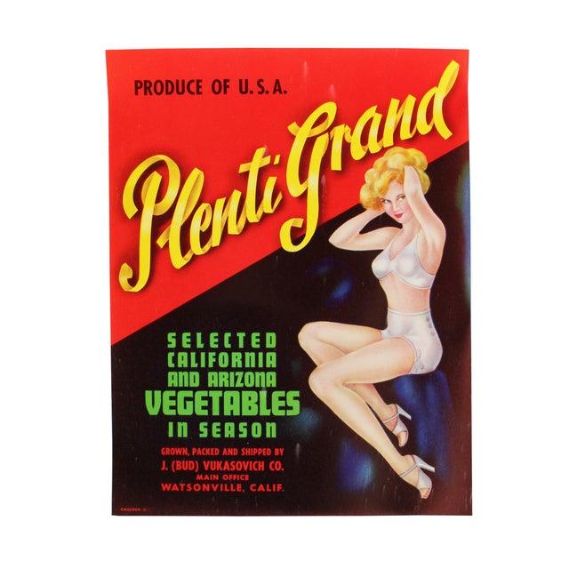 Vintage Original Pin-Up Labels - Set of 3 - Image 4 of 4