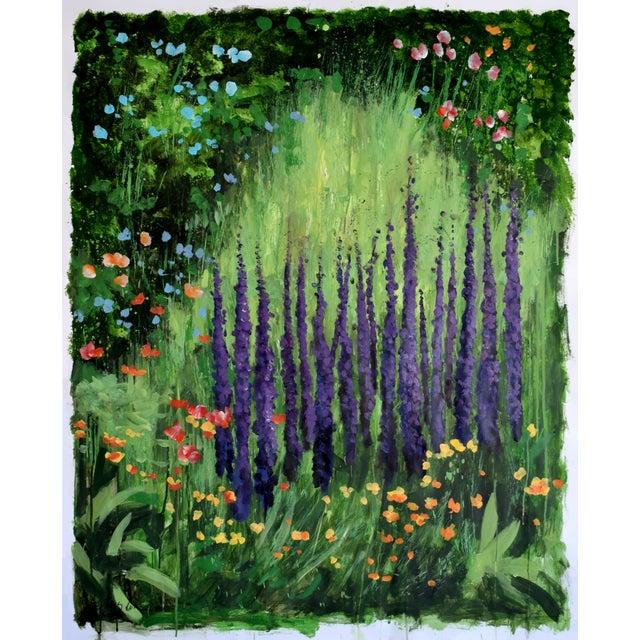 """Carla's Garden"" Acrylic Painting For Sale"