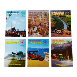 Horseless Carriage Gazette Magazines - 1966 Full Year - Collectible