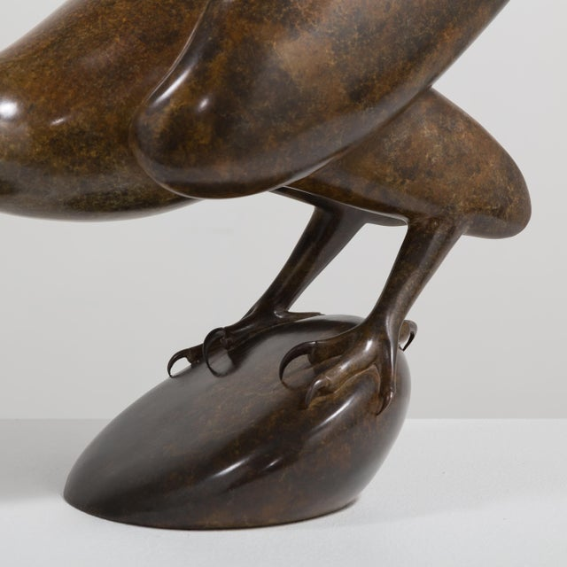 A Bronze Golden Eagle by Geoffrey Dashwood Edition 1 of 12 1999 For Sale - Image 6 of 6