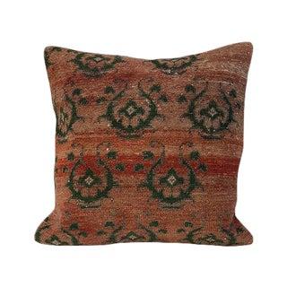 Kim Salmela Turkish Accents Kilim Square Pillow For Sale