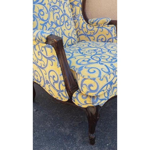 French Traditional Armchair Chairish
