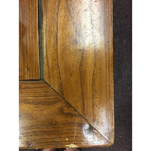 20th Century Chinese Elmwood Coffee Table For Sale In Denver - Image 6 of 11