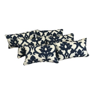 Printed Indoor/ Outdoor Pillows - Set of 2 For Sale