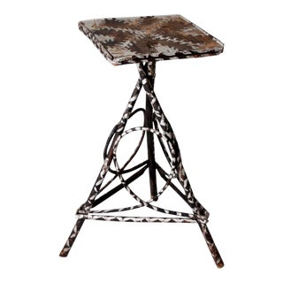Vintage Adirondack Style Twig Table For Sale