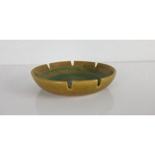 1970s Mid-Century Modern Glidden Pottery Ashtray. Preview