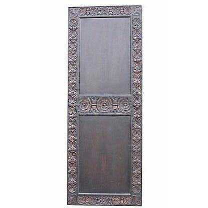 Carved Mahogany Finished Door - Image 1 of 5