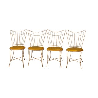 Homecrest Vintage Metal Wire Patio Chairs