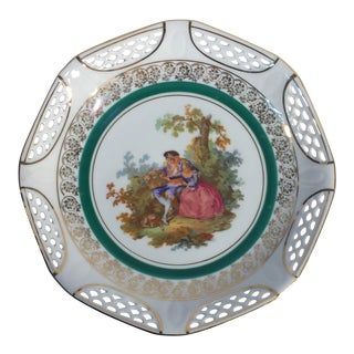 Antique German Paul's Gifts Plate For Sale