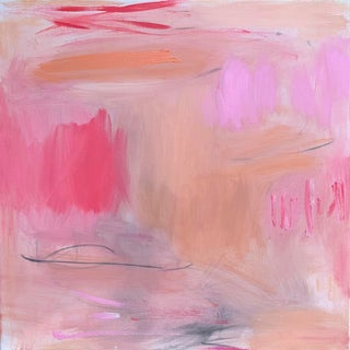 """""""Heart Strings"""" by Trixie Pitts Abstract Expressionist Oil Painting For Sale"""