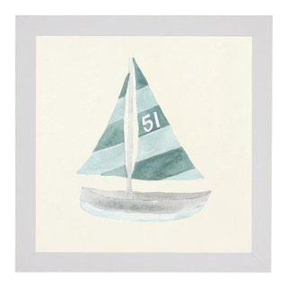 """Sailboat No. 51 - 20"""" X 20"""" For Sale"""