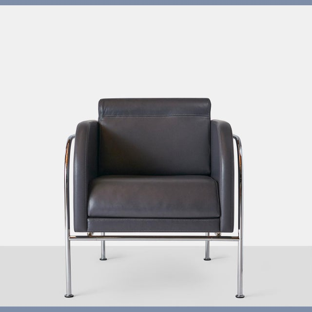 Randers Møbelfabrik Pair of Lounge Chairs by Friis & Moltke For Sale - Image 4 of 8
