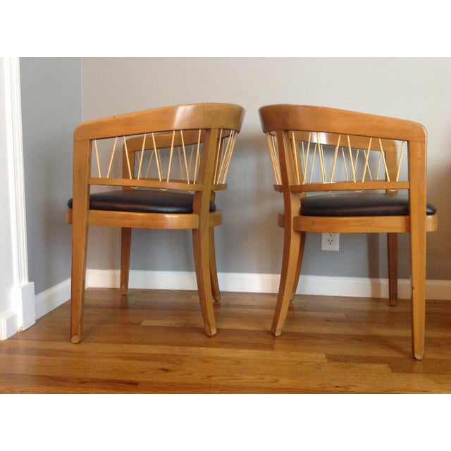 Edward Wormley for Drexel Armchairs - A Pair - Image 4 of 11