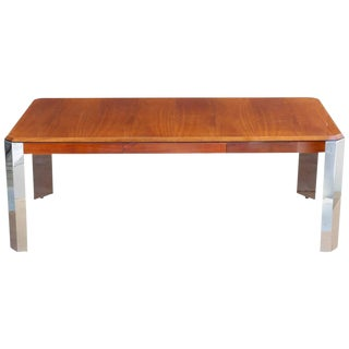 1970s Mid-Century Modern Leon Rosen Pace Collection Writing Desk For Sale